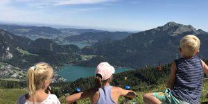 Wandelen rondom de Wolfgangsee met kinderen