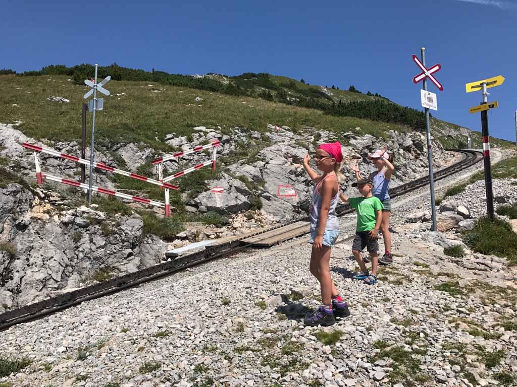 Wandelen rondom de wolfgangsee, de schafbergbahn