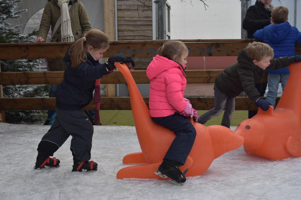 Samen spelen met de zeehond