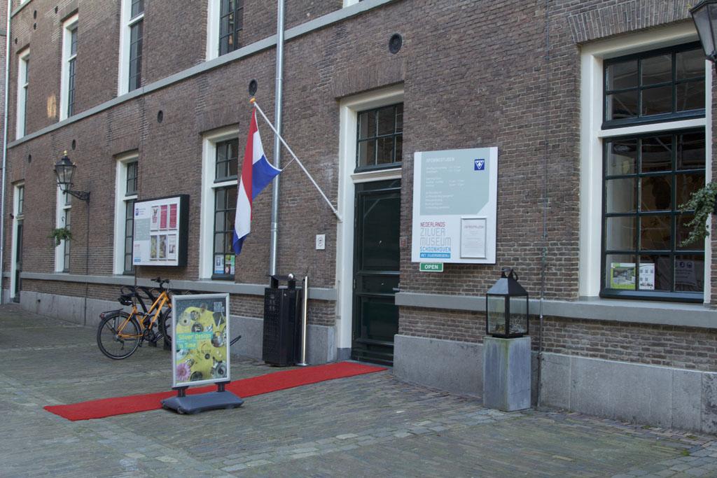 Het Nederlands Zilvermuseum in Schoonhoven.
