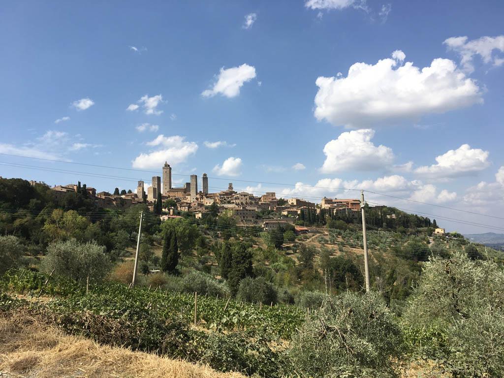 De torens van San Gimignano.