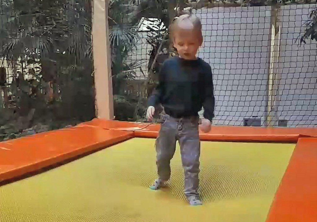 De trampoline in de Action Factory is favoriet