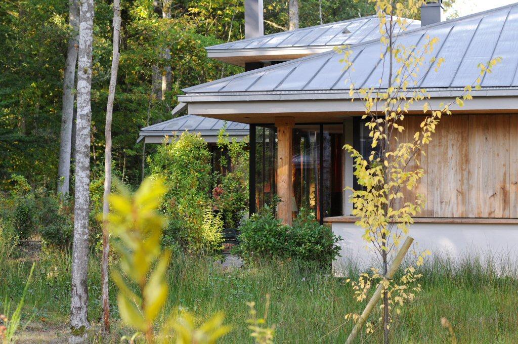 Met een zonnetje ziet de VIP Pagode cottage er prachtig uit (foto: Center Parcs)