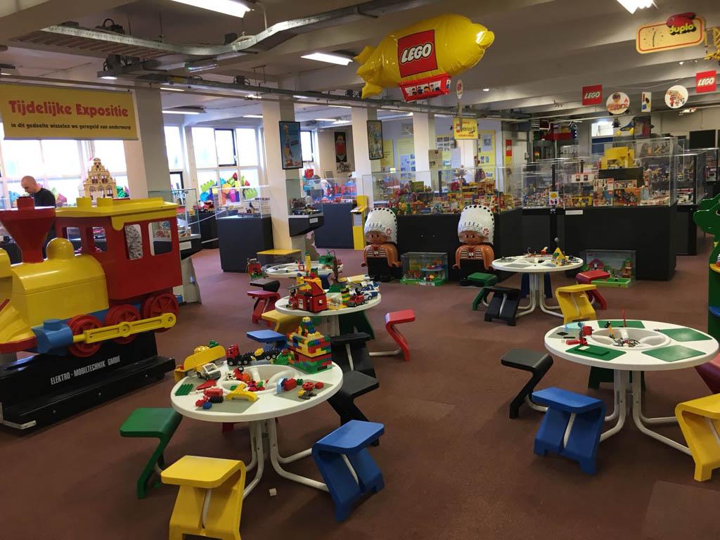 De ruimte waar je zelf kunt bouwen ziet er erg aantrekkelijk uit voor kinderen.