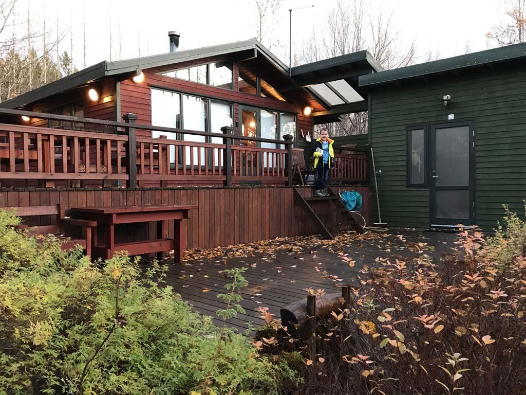 Ons fantastische vakantiehuis bij Laugarvatn.