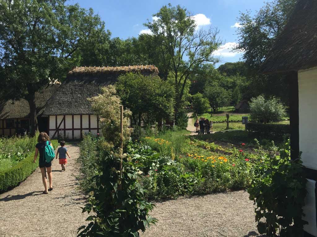 Prachtig ingericht oud dorpje.