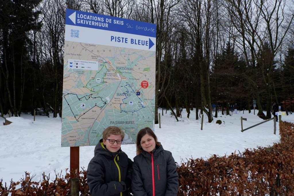 Langlaufen in België op de Hoge Venen