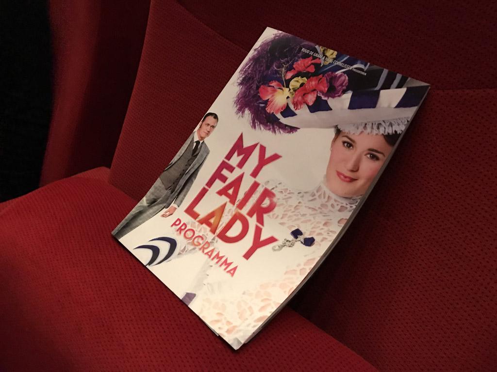 My Fair Lady alweer voor de vijfde keer in Nederland in het theater.