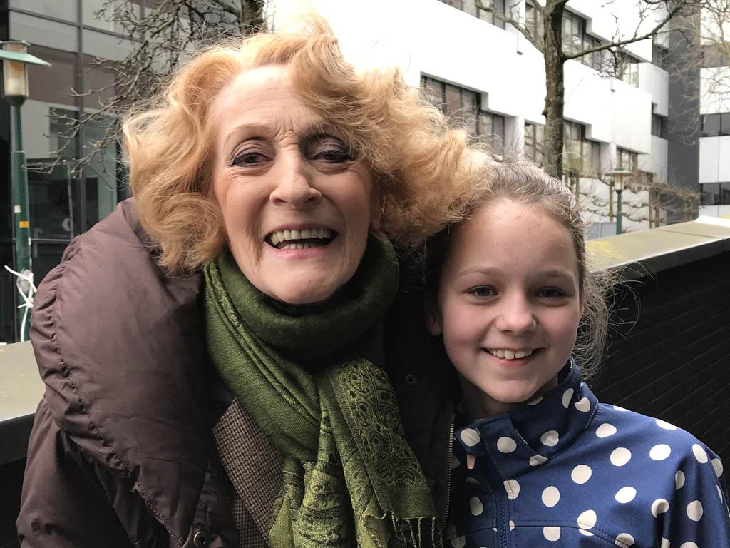 Gerrie van der Klei speelt de moeder van Henry Higgins, net als in de vierde Nederlandse My Fair Lady productie.