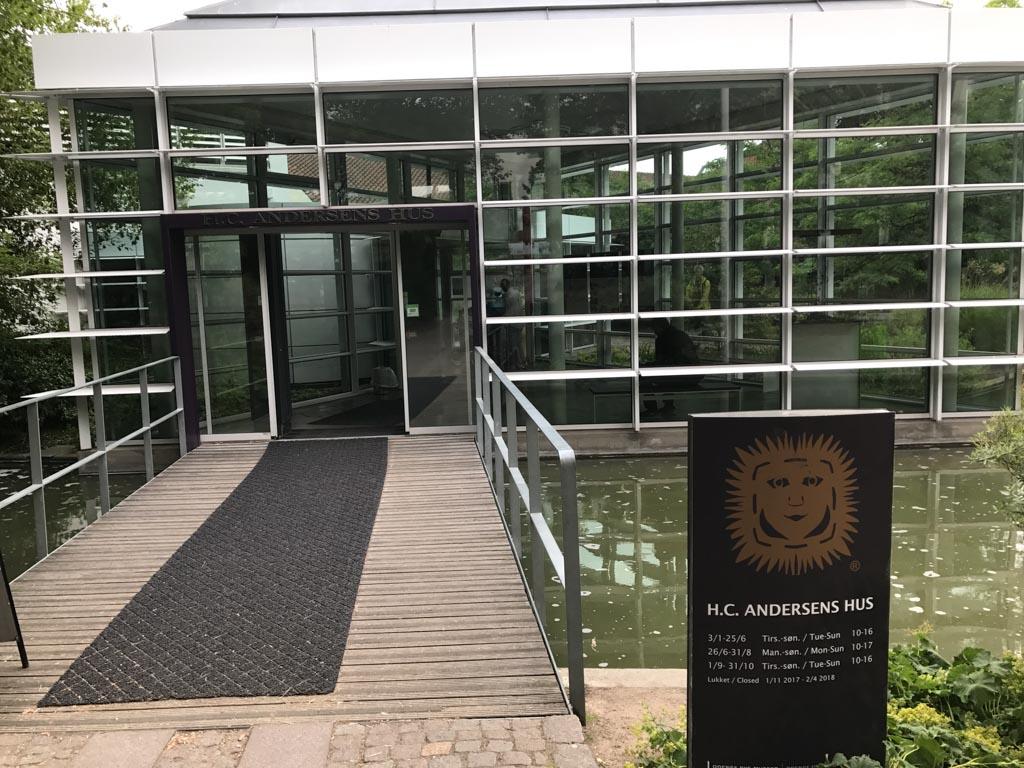 Het H.C. Andersen museum.