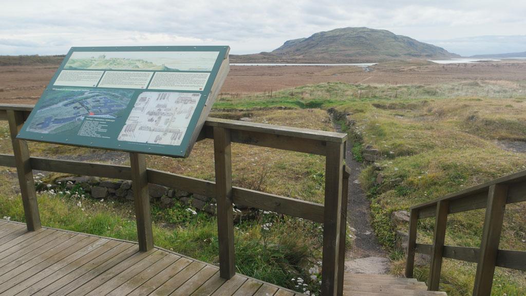 Prachtige ruige IJslandse natuur.