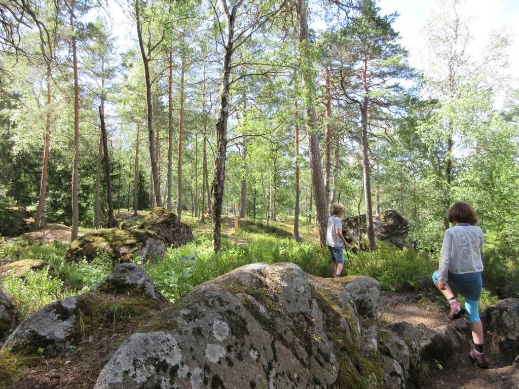 Wandelen in Zweden met kinderen