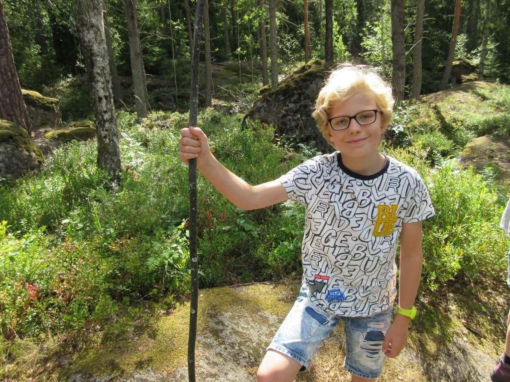 wandelen met kinderen in Zweden