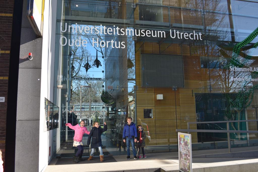 Universiteitsmuseum Utrecht met kinderen