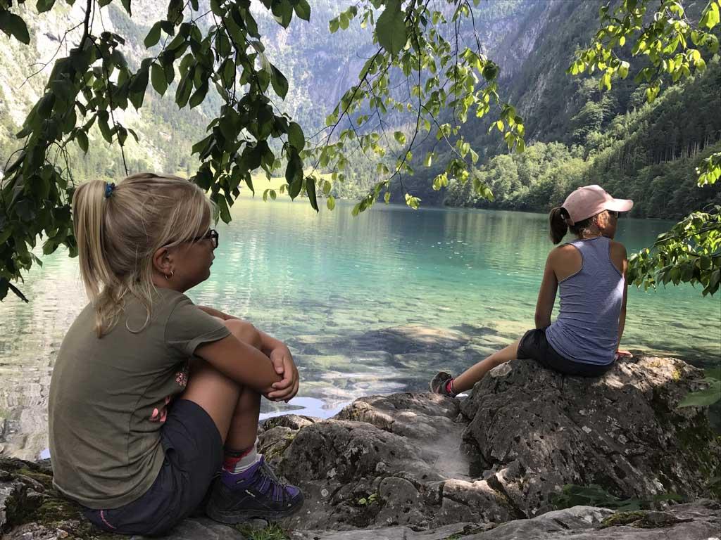 Wandelen bij de Konigssee in Duitsland is prachtig