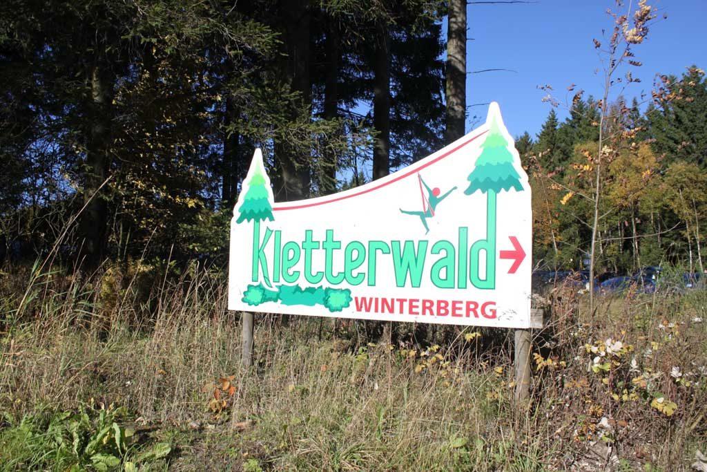 Het klimbos of ook wel het kletterwald is zeker een aanrader.
