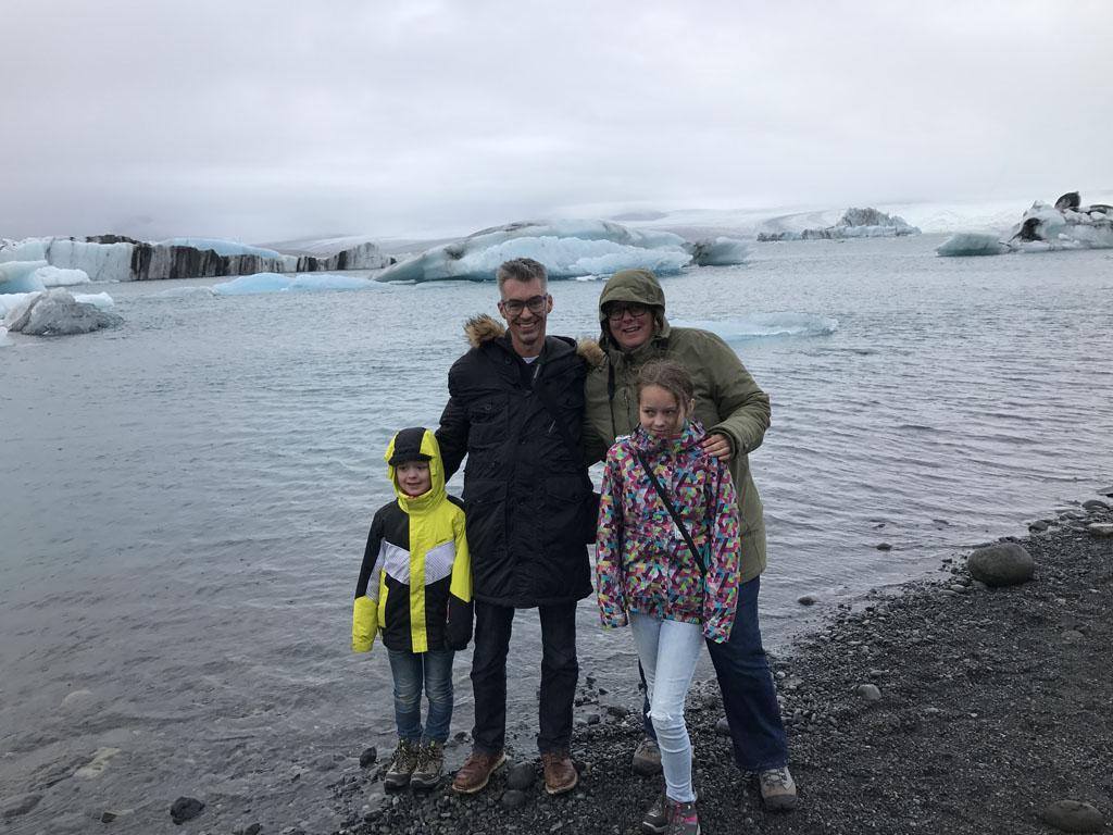 Gletsjermeer Jokulsarlon.
