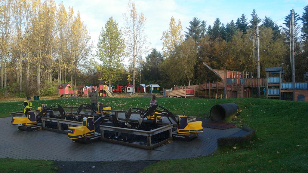 Spelen bij Reyjavik Zoo & Familypark.