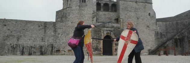 Toffe kastelen in Limerick: King John's Castle en Bunratty Castle & Folkpark