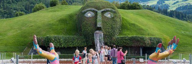 Kristallwelten Swarovskiin Tirol, een surrealistische wereld