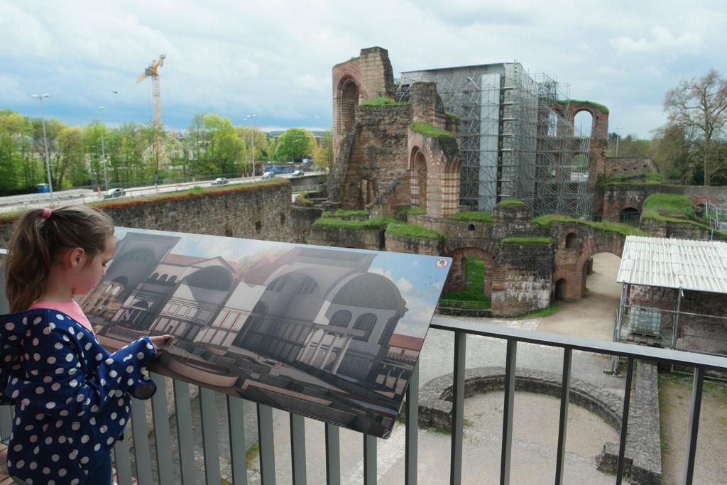 Op bezoek bij de Romeinen in Trier.