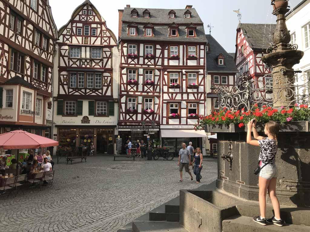 Bernkastel-Kues, een van de mooiste stadjes in Duitsland.