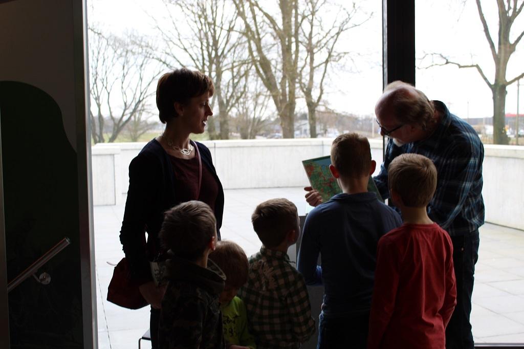 Een hartelijk en persoonlijk ontvangst in het Grebbelinie Bezoekerscentrum.