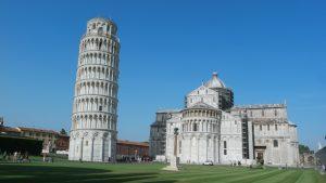 Pisa met kinderen