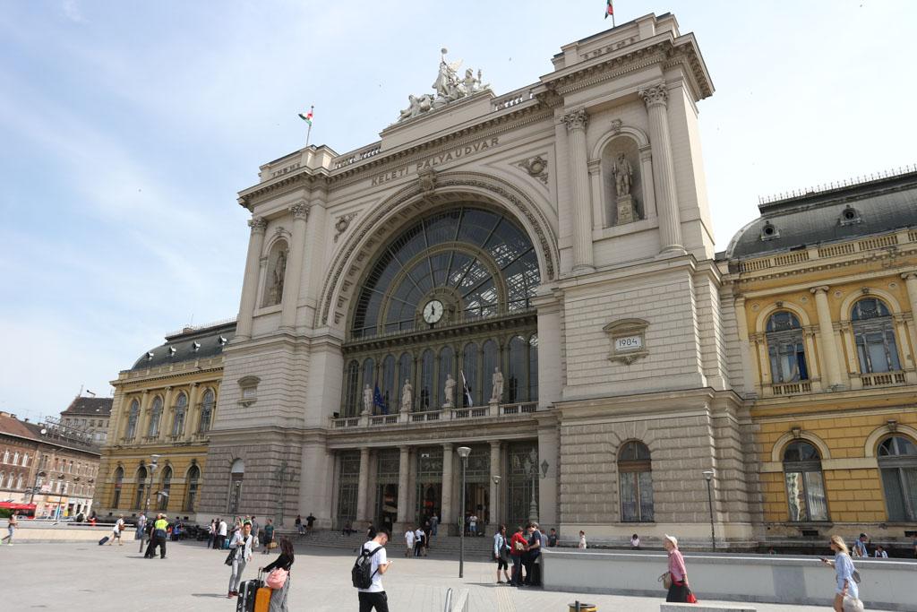Boedapest Keleti is een mooi kopstation.