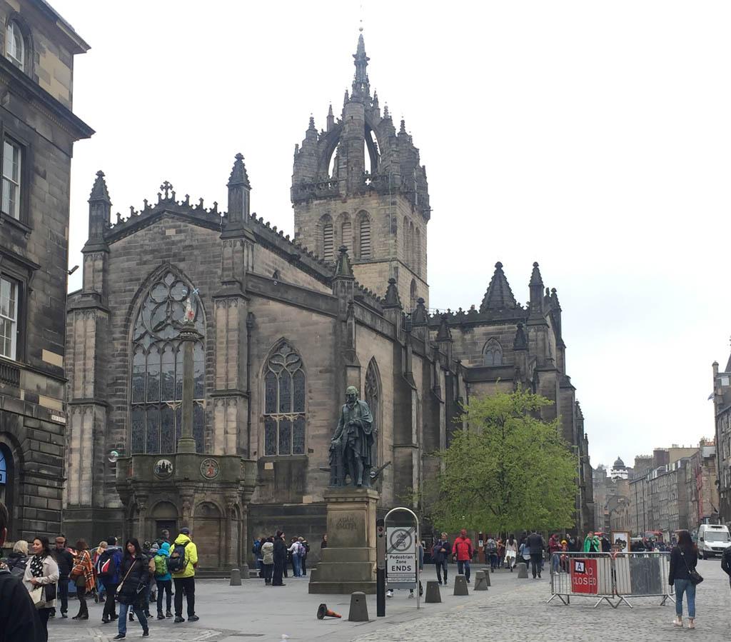 Edinburgh met kinderen cathedral