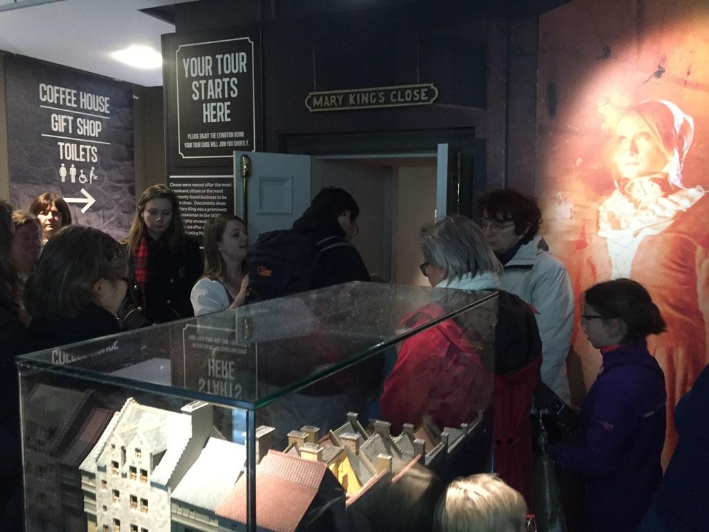 Edinburgh met kinderen ondergronds