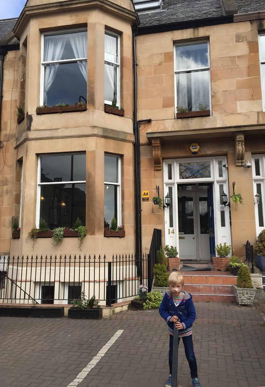 Edinburgh met kinderen guesthouse