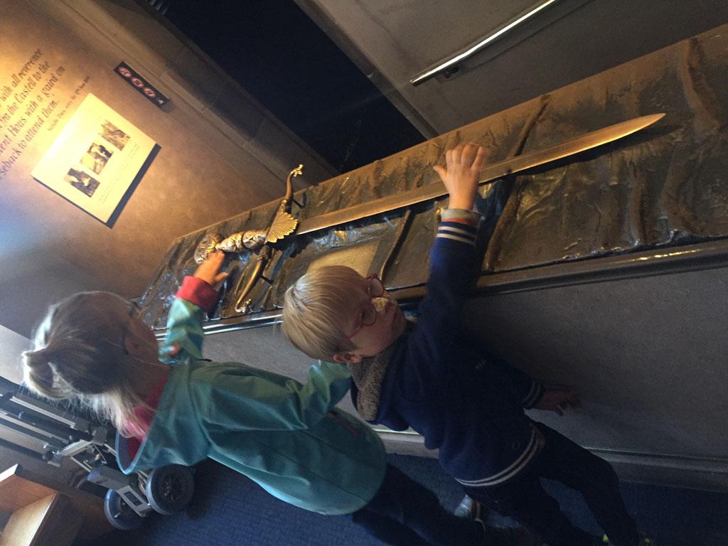 Edinburgh met kinderen kroonjuwelen
