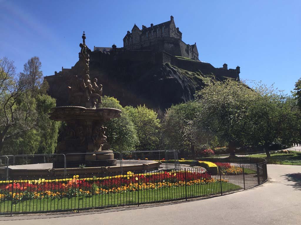 Edinburg met kinderen castle rock