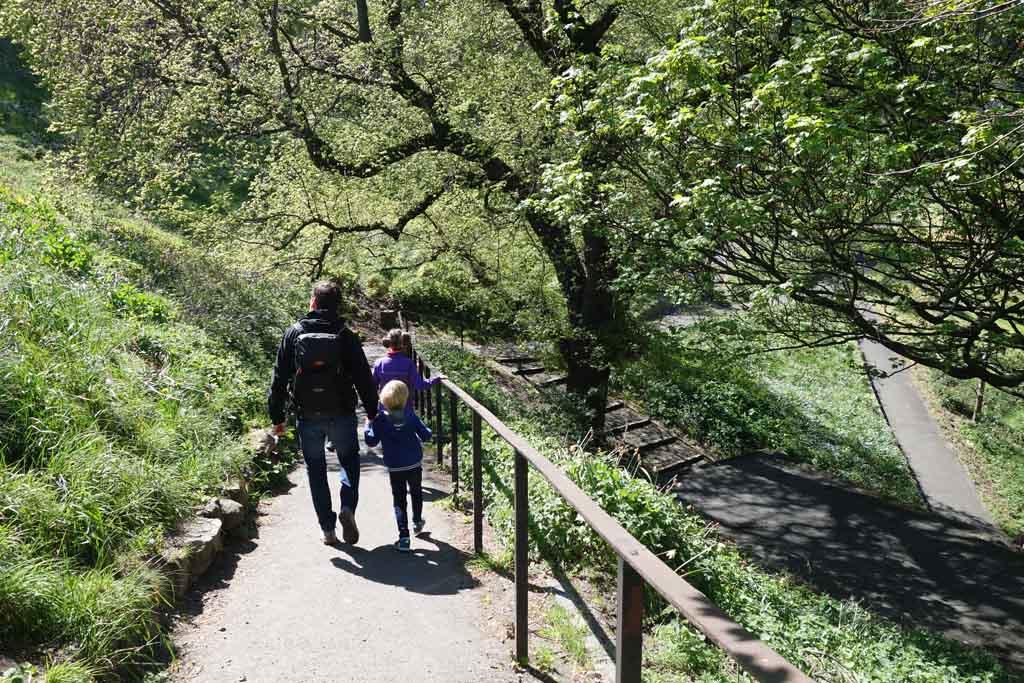 Edinburgh met kinderen park