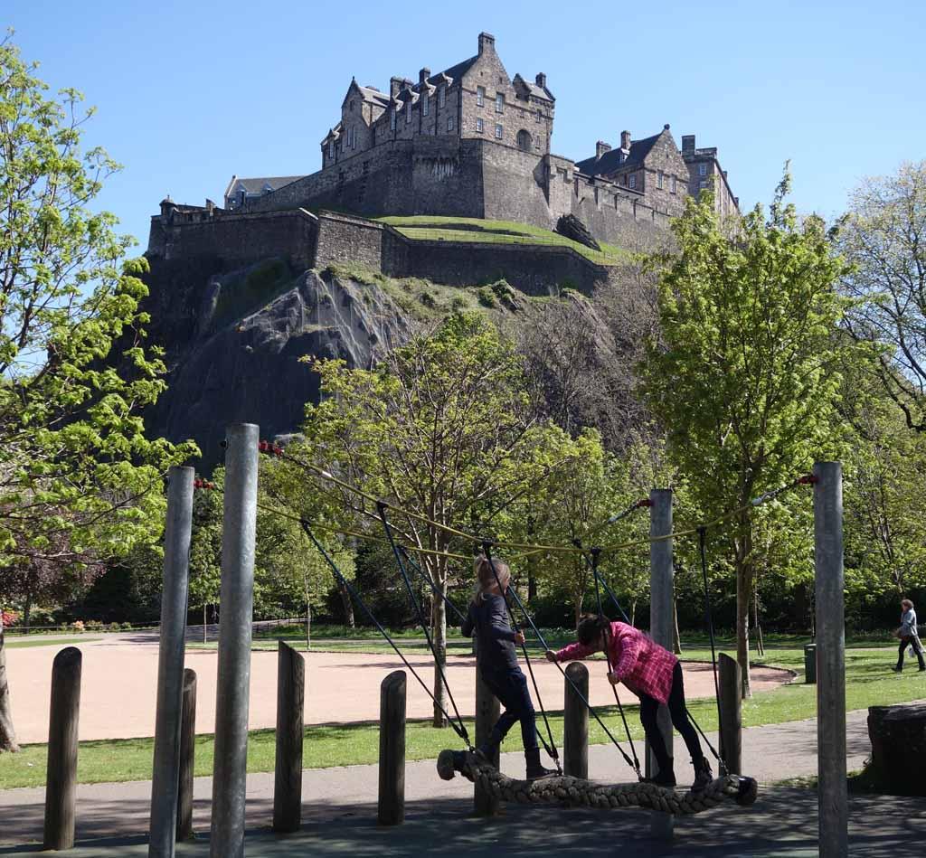 Edinburgh met kinderen speeltuin