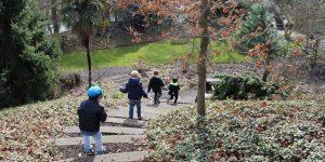 Botanische Tuinen in Utrecht met kinderen: het land van de Weerman