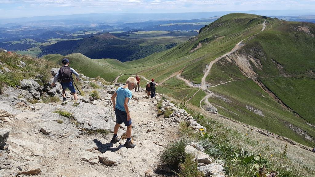 Voor het wandelen op de Puy de Sancy is wel wat ervaring nodig.