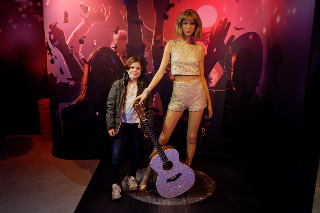 Taylor Swift bij Madame Tussauds Amsterdam