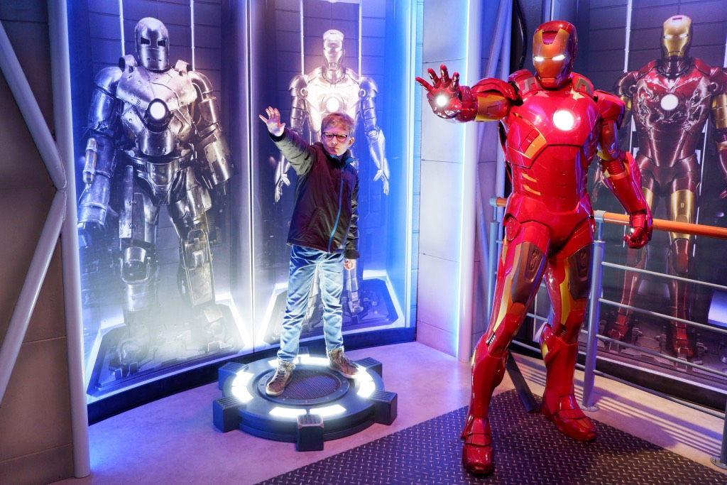Iron Man bij Madame Tussauds
