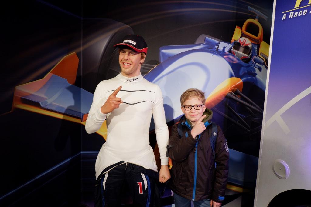 Vettel Madame Tussauds