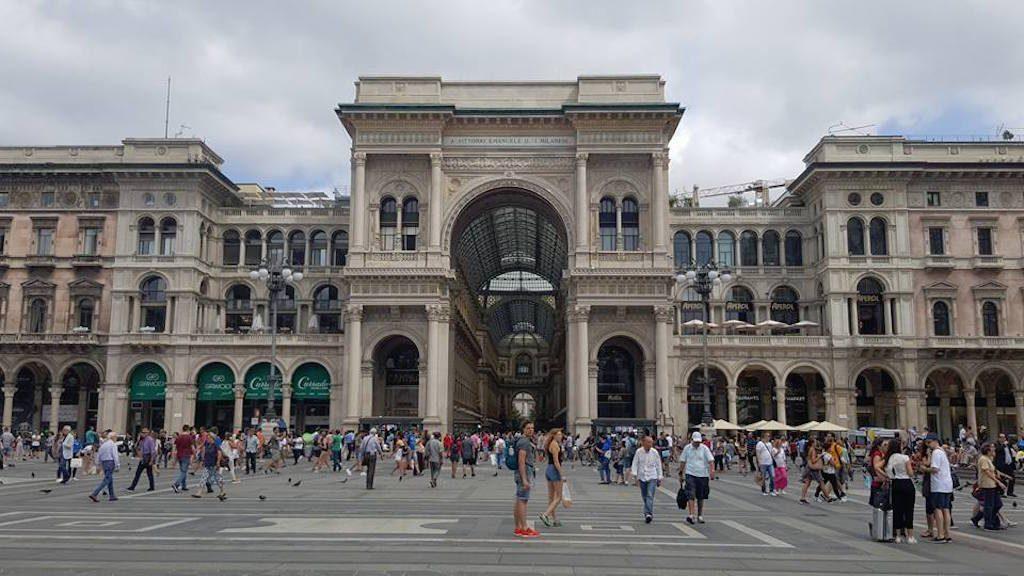 De Galleria Vittorio Emanuele II is een prachtige overdekte winkelstraat uit de 19e eeuw. Een must visit als je in Milaan bent!