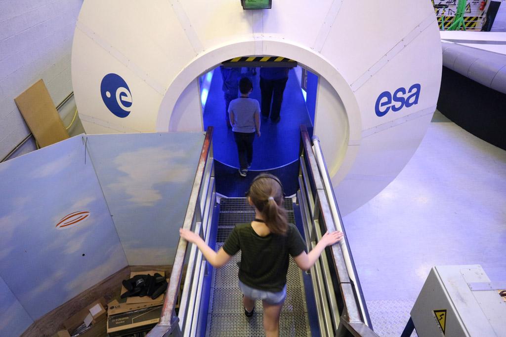 In deze capsule zien we hoe het leven aan boord is.