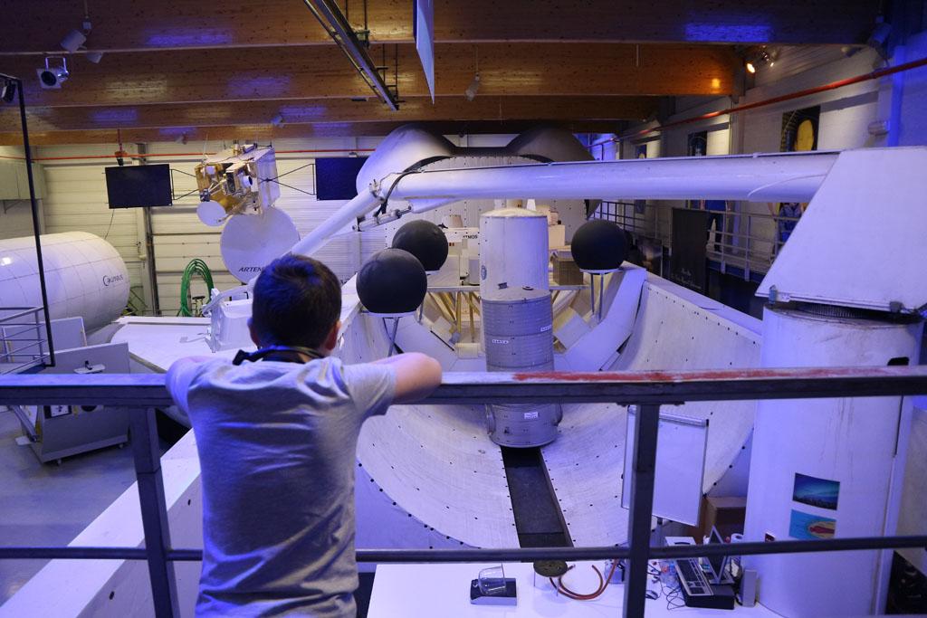 Een spaceshuttle op ware grootte.