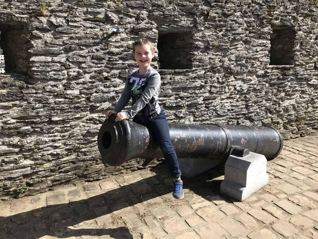 Camiel wil in augustus terug naar het kasteel van Bouillon.