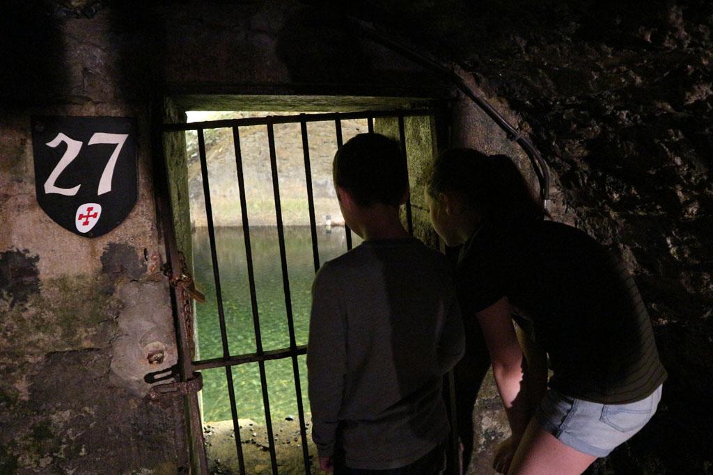 Ondergrondse voorraad met water.