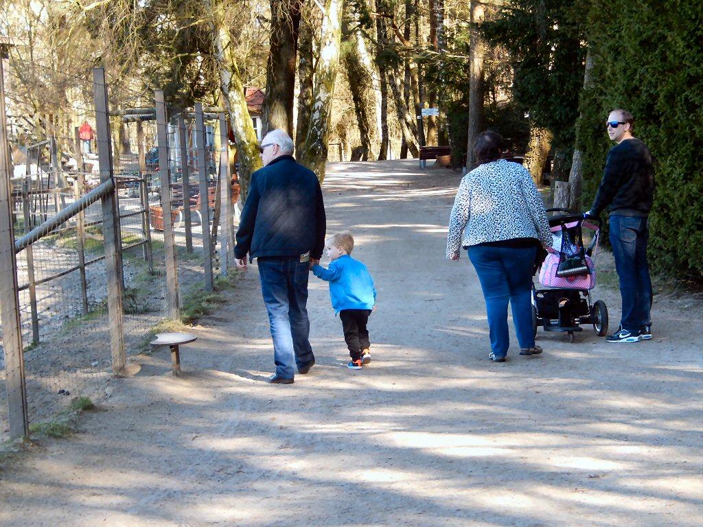 Mooie ruime paden in Wildpark Lüneburger Heide