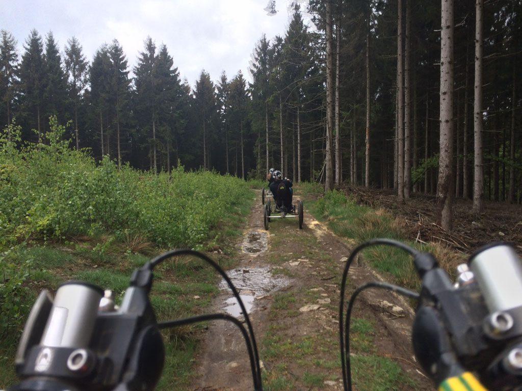 Kunnen schakelen is noodzakelijk in de heuvelachtige Ardennen