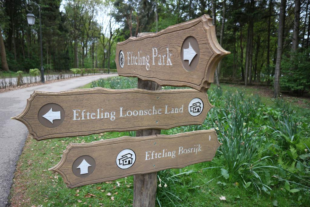 Vanuit Bosrijk loop je zo naar de Efteling.
