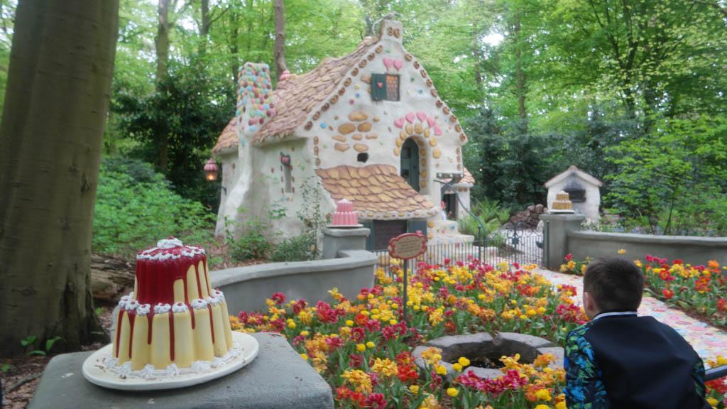 Het huis van de heks van Hans & Grietje.